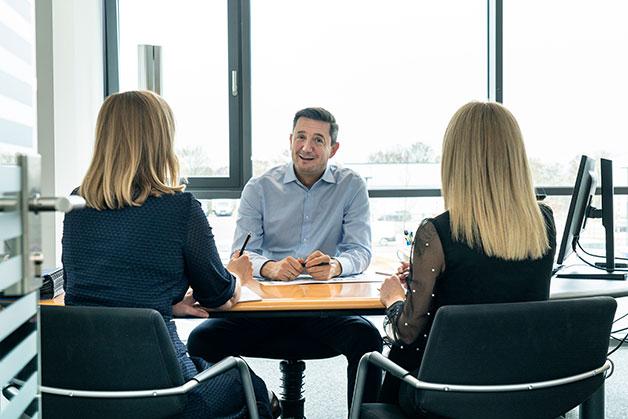 Key Account Management Besprechung