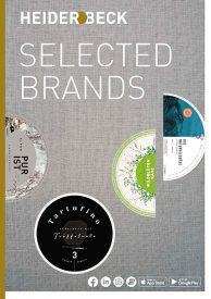 Titelbild Katalog Heiderbeck Selected Brands