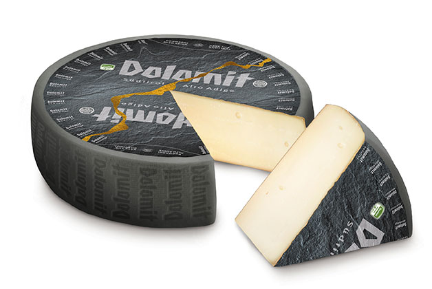 Bild vom Dolomit Käse angeschnitten