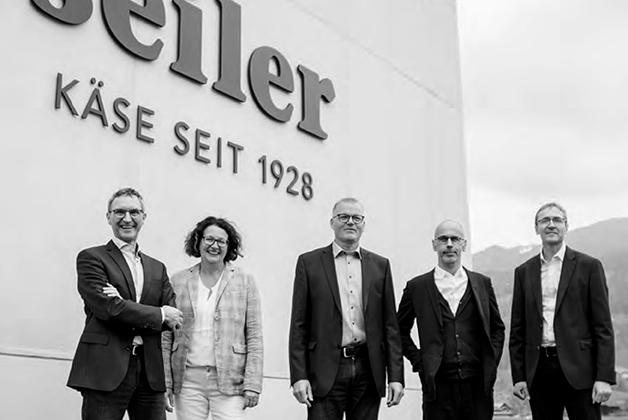 Das Team der Geschäftsleitung von Seiler